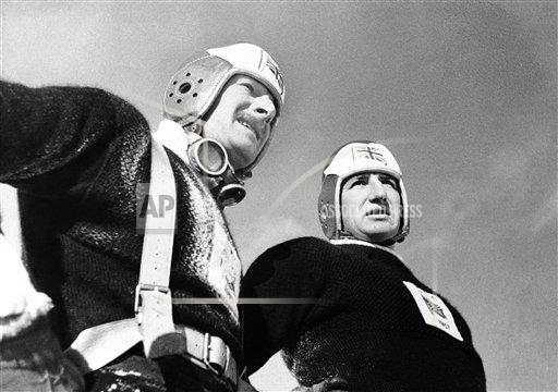 Watchf AP S BOB  ITA APHSL51918 Italy Britain's Two-man Bobsled Team