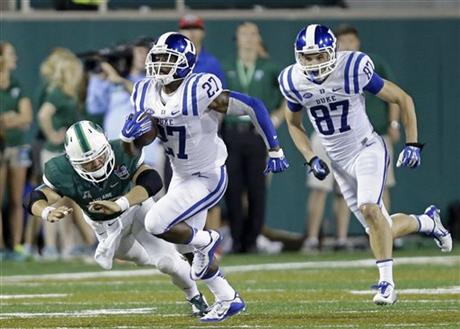 Edwards electrifies Duke with play more ways than one