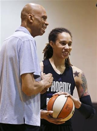 Kareem Abdul-Jabbar, Brittney Griner