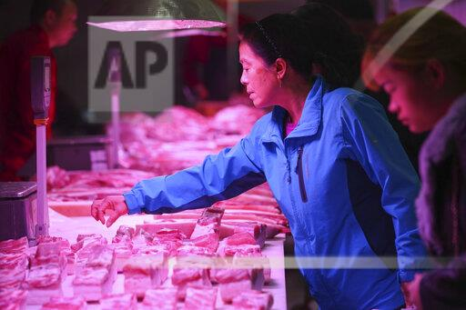 CHINA CHINESE PORK PRICE SHAANXI