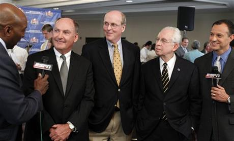 Jim Delany, Bill Hancock, Mike Slive