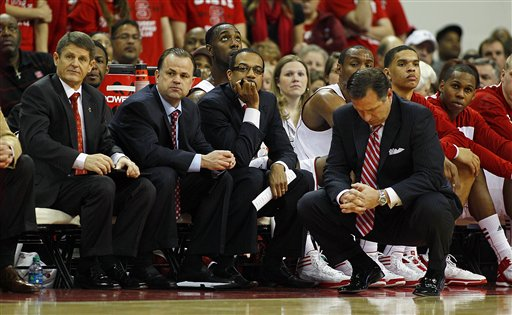 Mark Gottfried, Bobby Lutz, Rob Moxley, Orlando Early