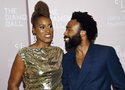 Actress Issa Rae, left, and actor/rapper Donald Glover attend the 4th annual Diamond Ball at Cipriani Wall Street on Thursday, Sept. 13, 2018, in New York. (Photo by Evan Agostini/Invision/AP)