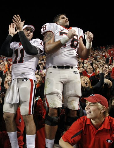 Aaron Murray, Watts Dantzler