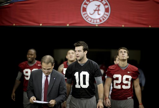 Nick Saban, AJ McCarron
