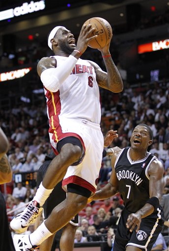 Joe Johnson, LeBron James