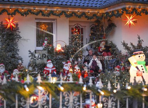 Christmas garden in Brandenburg