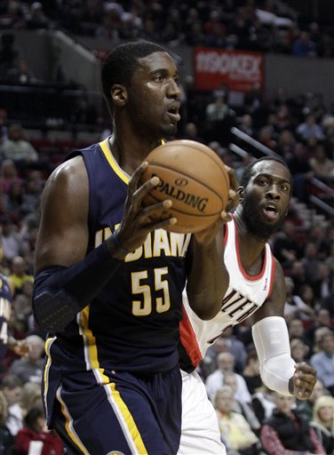 Roy Hibbert, J.J. Hickson