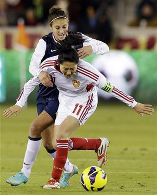 Pu Wei, Carli Lloyd