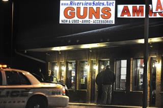 School Shooting Gun Shop