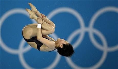 London Olympics Diving Women