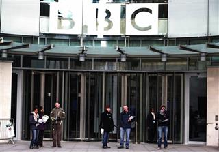 Britain BBC Strike