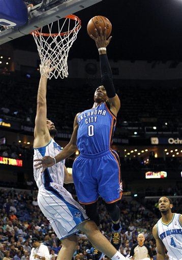 Russell Westbrook, Ryan Anderson