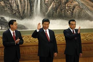 Zhang Dejiang, Xi Jinping, Li Keqiang