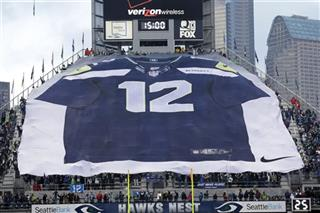 Seahawks A M 12th Man Football