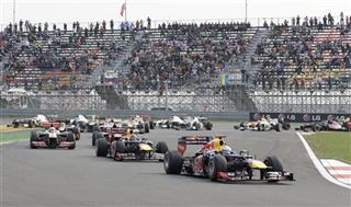 Korea F1 GP Auto Racing