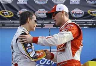 Jeff Gordon, Kevin Harvick