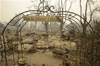 California Wildfires Cleanup