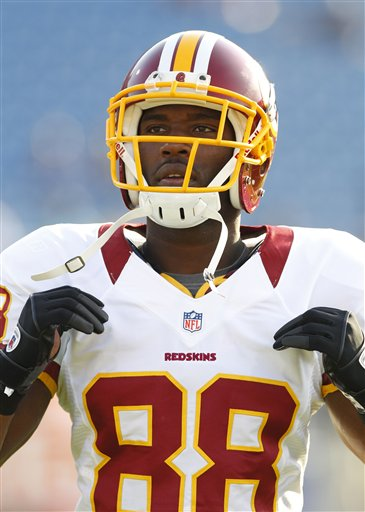 The Skins need Pierre Garcon back
