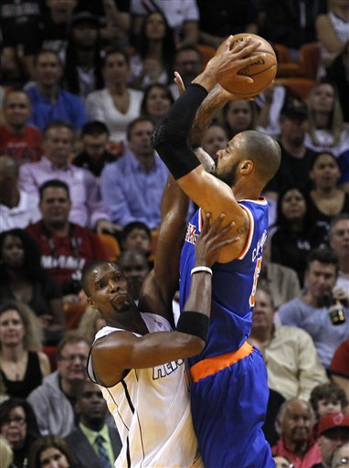 Tyson Chandler, Chris Bosh