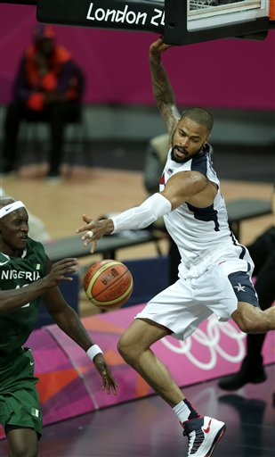Tyson Chandler, Ejike Ugboaja