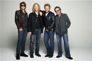 Richie Sambora, David Bryan, Jon Bon Jovi, Tico Torres