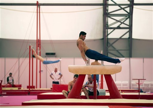 London Olympics Gymnastics Men
