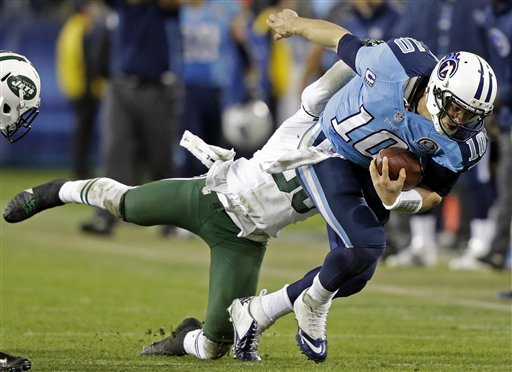 Jake Locker, LaRon Landry