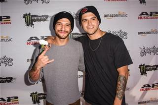 Tyler Posey and Jesse Posey