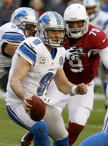 Matthew Stafford, David Carter