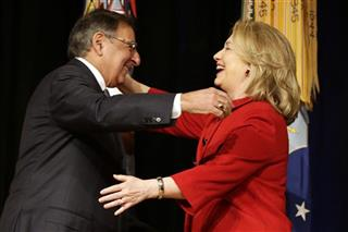 Hillary Rodham Clinton, Leon Panetta