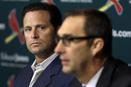 John Mozeliak, Mike Matheny