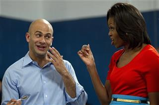Michelle Obama, Sam Kass
