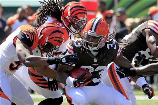 Trent Richardson, Reggie Nelson, Vincent Rey