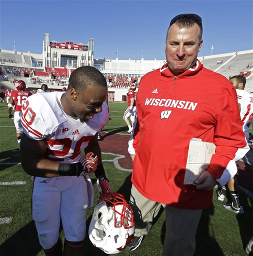 James White, Bret Bielema