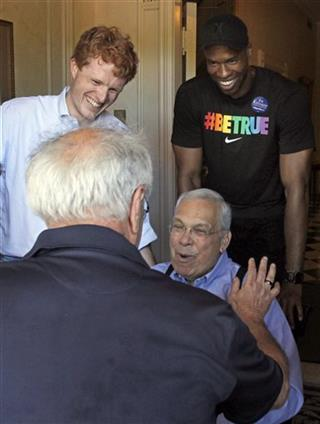 Jason Collins, Tom Menino, Joe Kennedy, Barney Frank