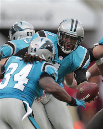 Cam Newton DeAngelo Williams