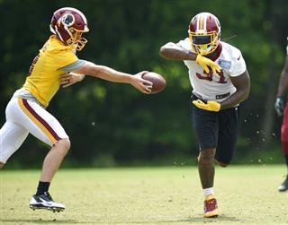 Matt Jones, Kirk Cousins