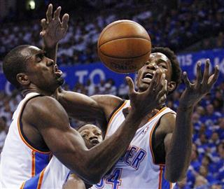 Serge Ibaka, Hasheem Thabeet