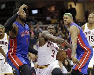 Dion Waiters, Andre Drummond, Charlie Villanueva