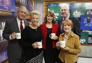 CHARLES GIBSON, JOAN LUNDEN, SANDY HILL, DAVID HARTMAM, NANCY DUSSAULT