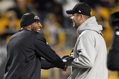 Ray Lewis, Ben Roethlisberger