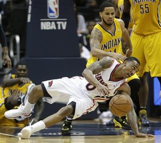 Pacers Hawks basketball