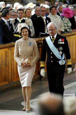 Queen Silvia, King Carl Gustaf
