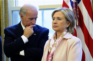 Hillary Rodham Clinton, Joe Biden