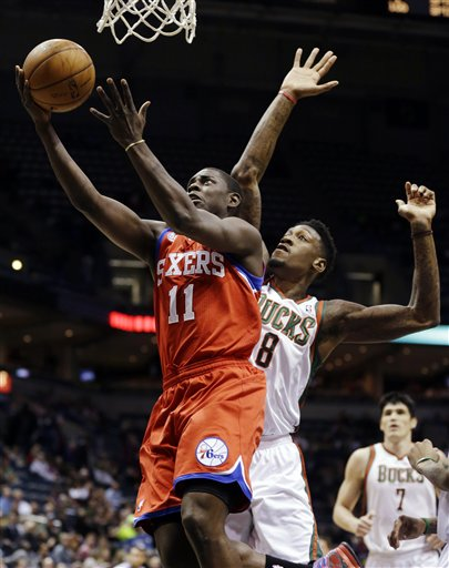 Jrue Holiday, Larry Sanders