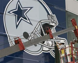 Cowboys Soothe Baby