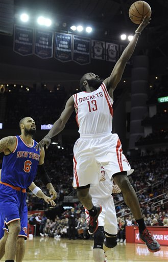 James Harden, Tyson Chandler