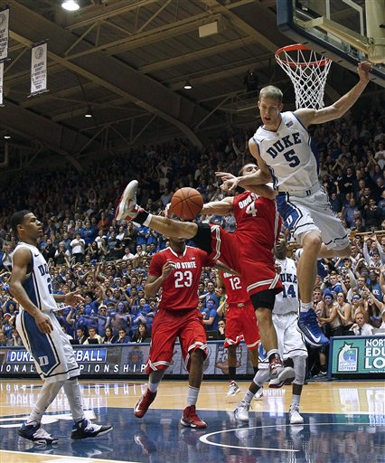 Mason Plumlee, Aaron Craft