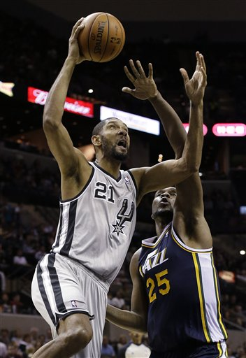 Al Jefferson, Tim Duncan